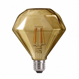 Bombilla LED Diamante Fumé (4W-neutra)