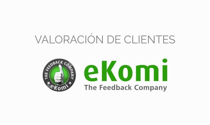 Valoración de clientes eKomi